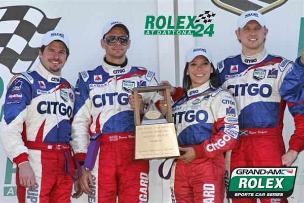 Milka earned highest finish ever- 2nd place - for a female driver - in the now 52-year history of the Rolex 24 Hours at Daytona at Daytona International Speedway